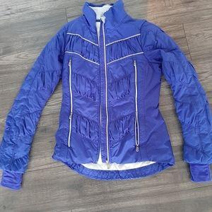 Lululemon chevron blue spring jacket